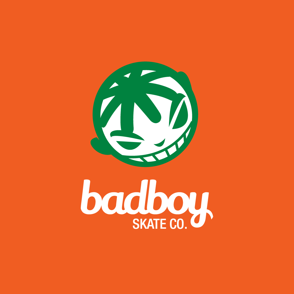 Badboy Skate Co Youth Skateboard Logo Design Logo Cowboy