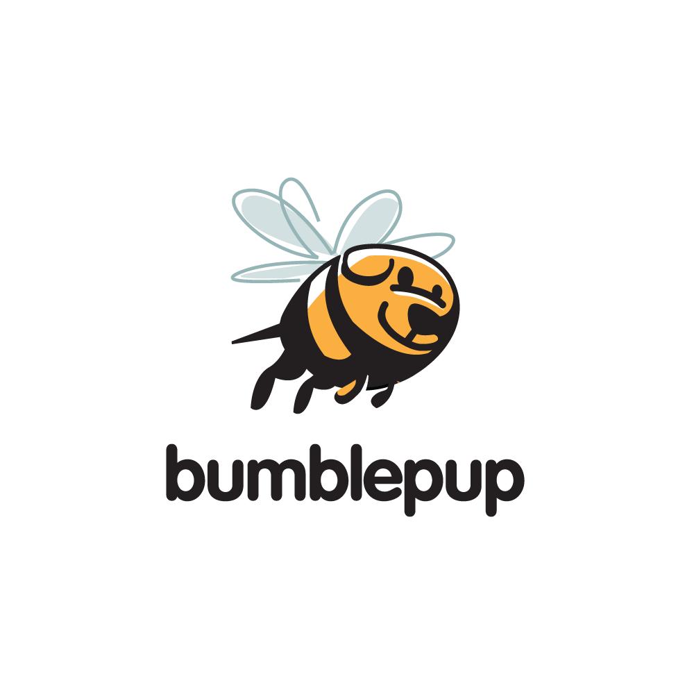 SOLD – Bumblepup—Bumblebee Dog Logo Design | Logo Cowboy