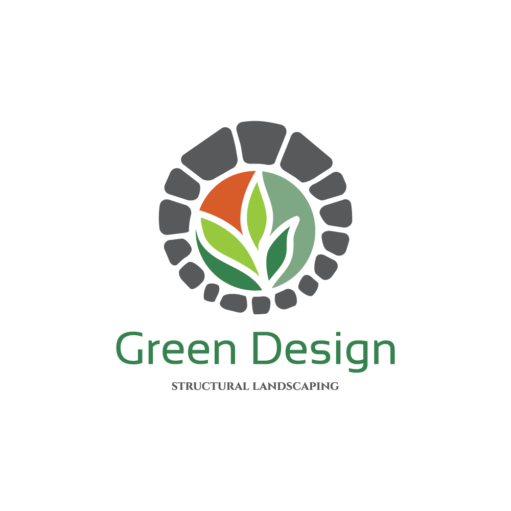 Green Design Landscaping Logo Design Logo Cowboy