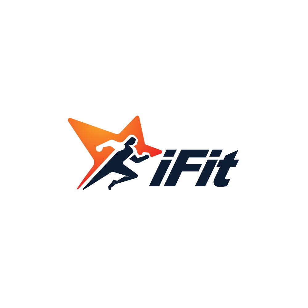 Sold ifit star runner logo design logo cowboy for Design lago