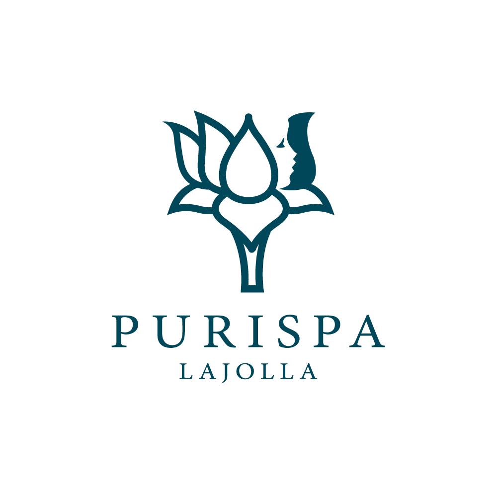 Purispalotus Flower Face Logo Design Logo Cowboy