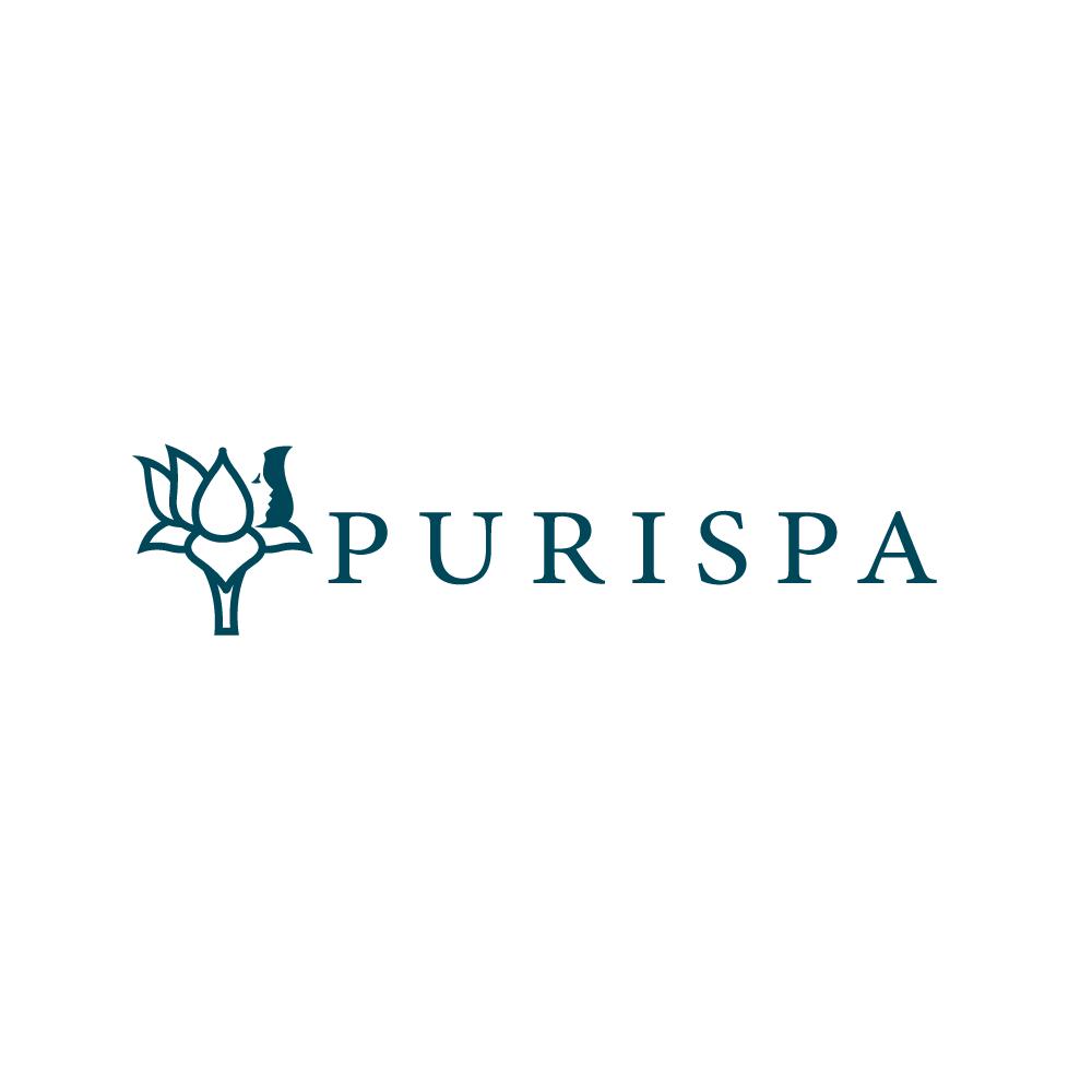 Purispa Lotus Flower Face Logo Design Logo Cowboy