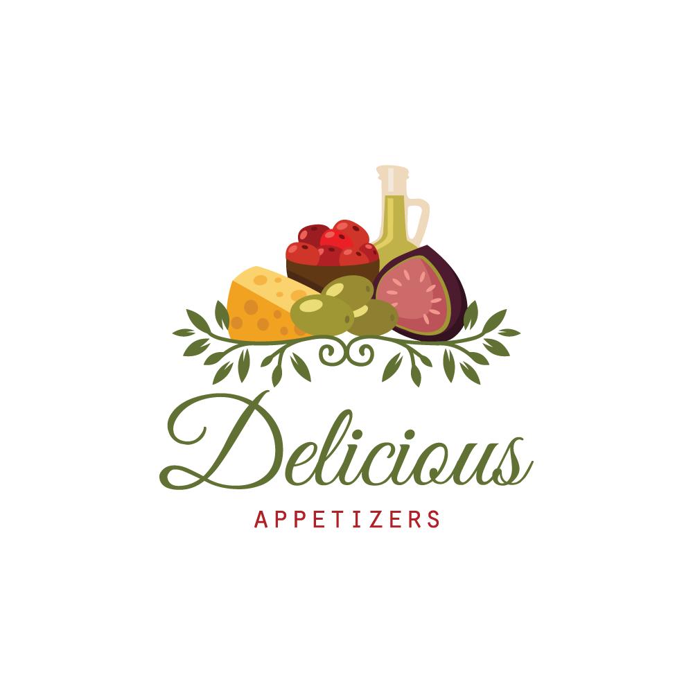 Delicious Appetizers Logo Design – Logo Cowboy