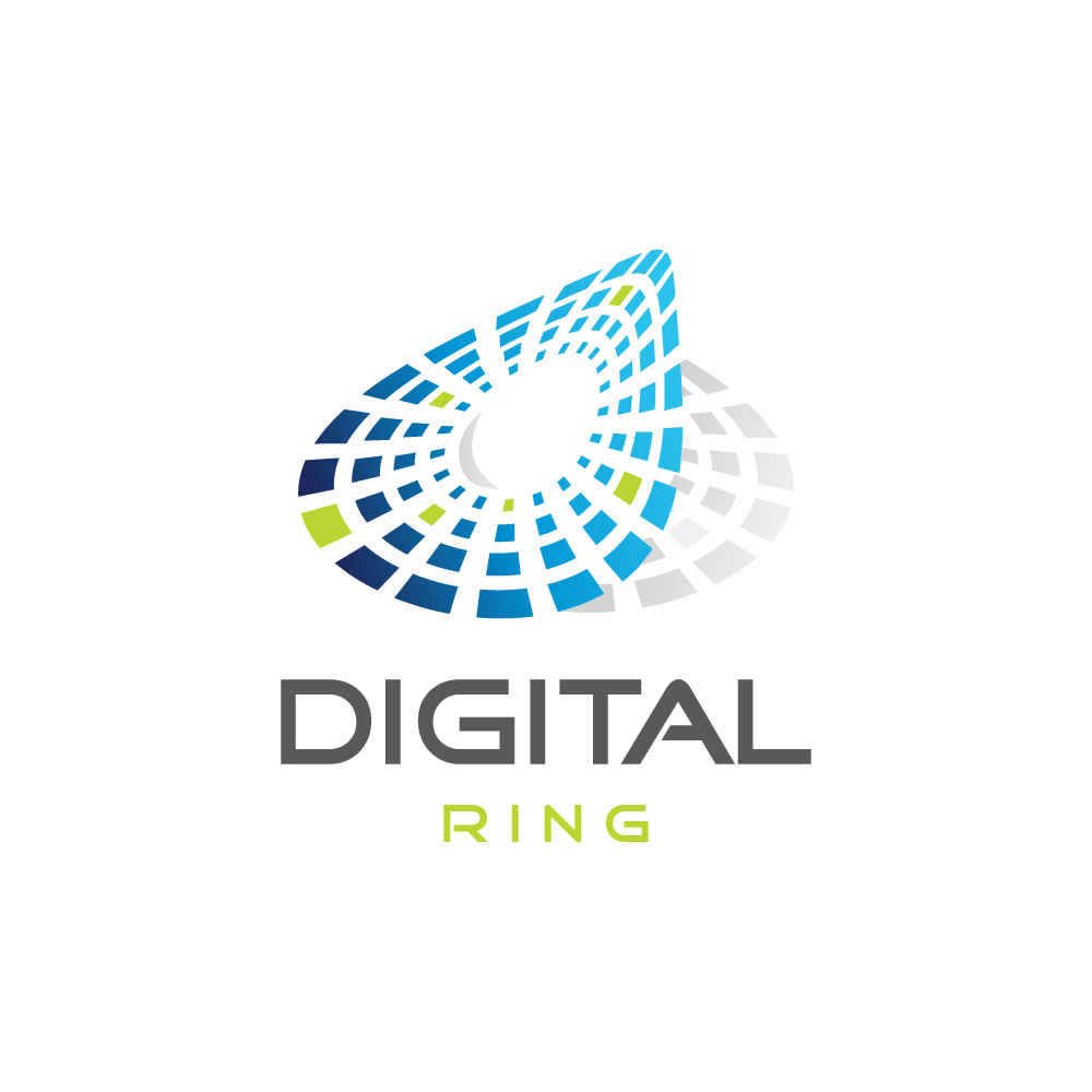 Digital Ring Logo Design Logo Cowboy