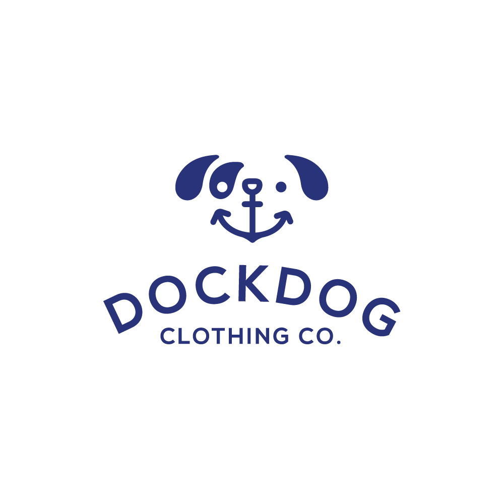 Dockdog anchor logo design logo cowboy for Design lago