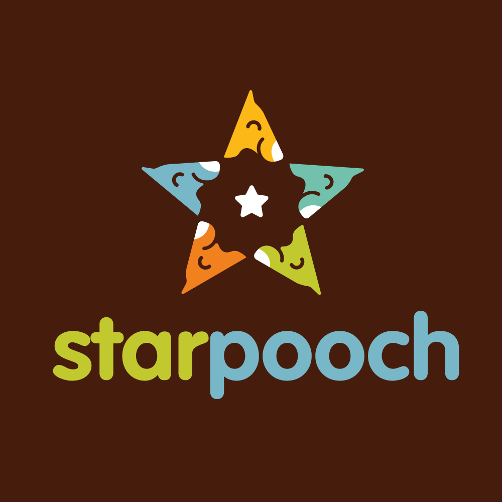 Starpooch dog star logo design logo cowboy for Design lago