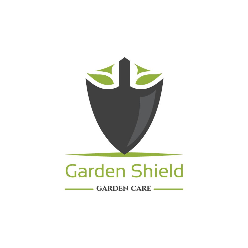 Garden Shield Logo Design Logo Cowboy