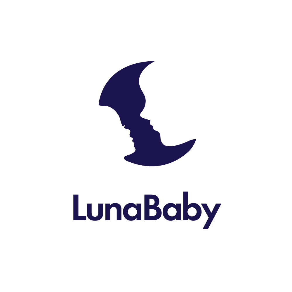 lunababy mother father child moon logo design logo cowboy rh logocowboy com mother and child logo herb lubalin mother and child logo vector