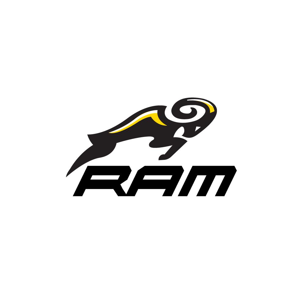 Sold Jumping Ram Logo Design Logo Cowboy