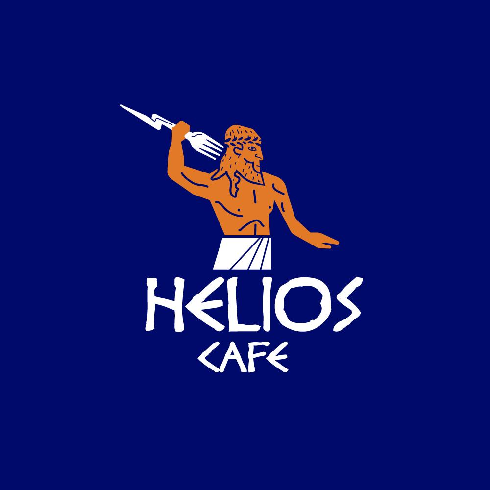 Lunch Truck For Sale >> SOLD: Helios Cafe – Greek Restaurant Zeus Logo – Logo Cowboy