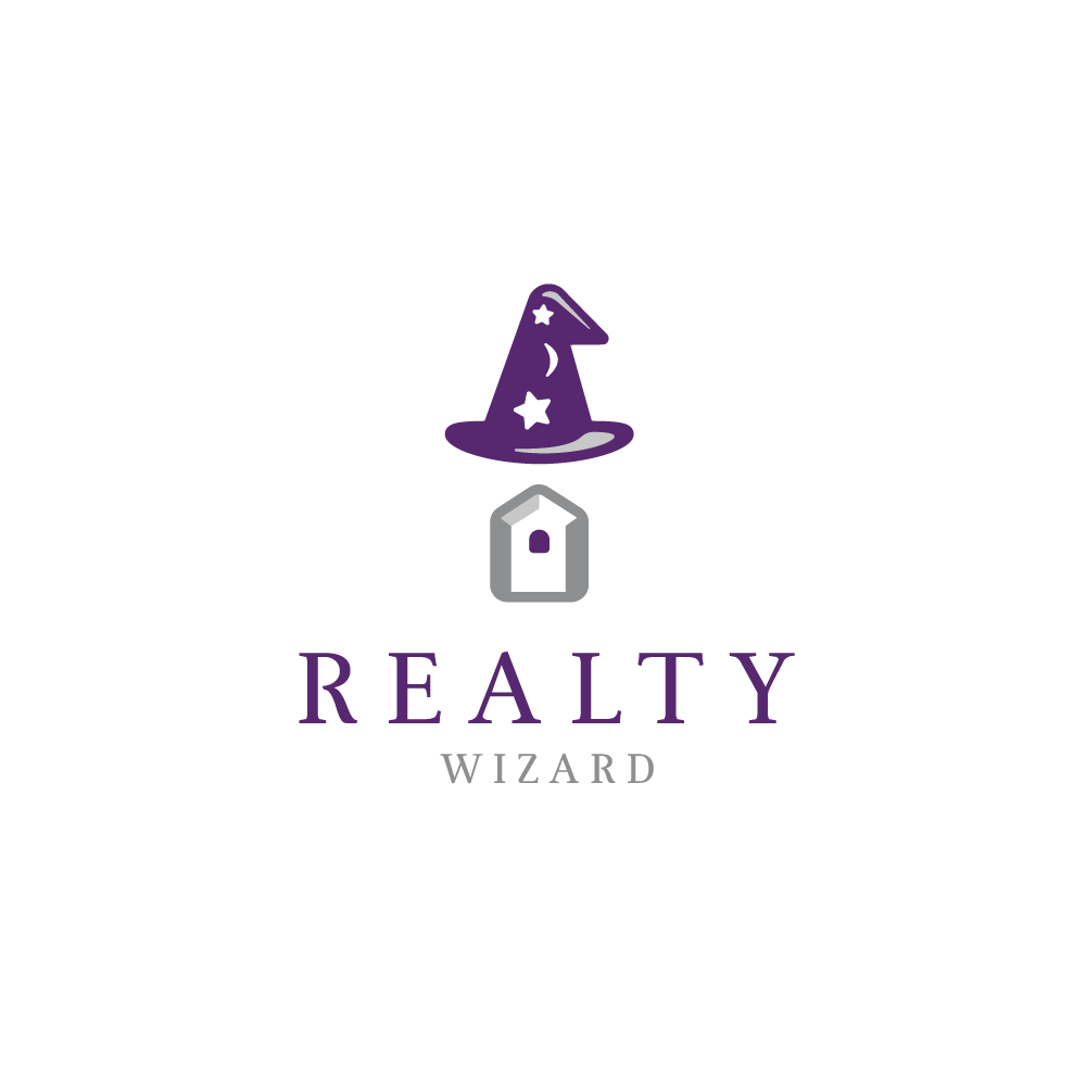 For sale realty wizard logo design logo cowboy for Logo creation wizard