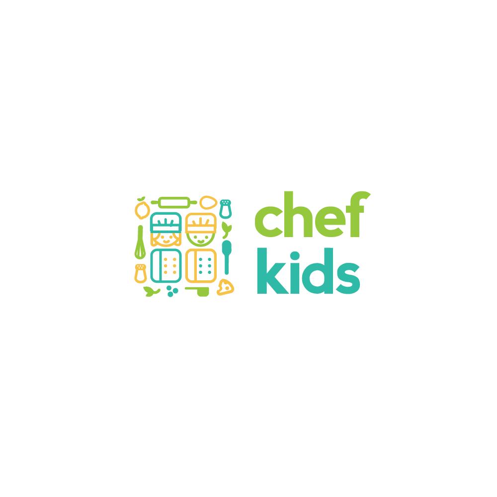 for sale chef kids logo design logo cowboy