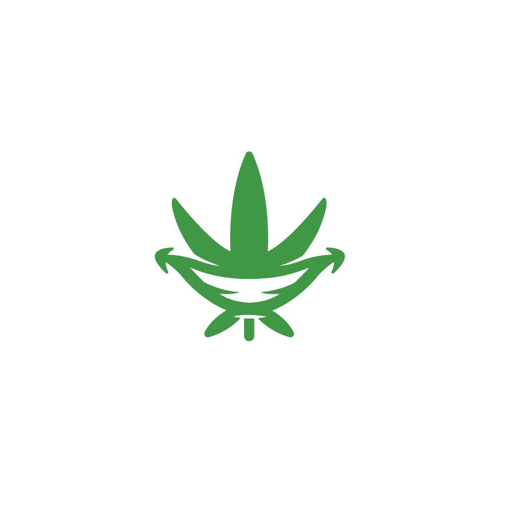 for sale high there farms marijuana leaf smile logo design logo rh logocowboy com