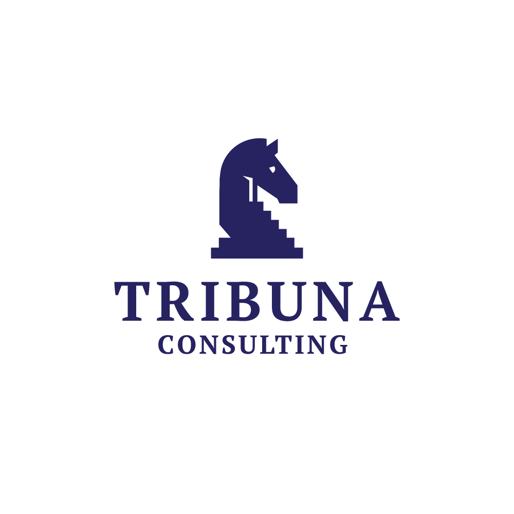 for sale tribuna consulting chess knight logo design