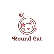 round-cat-logo-for-sale