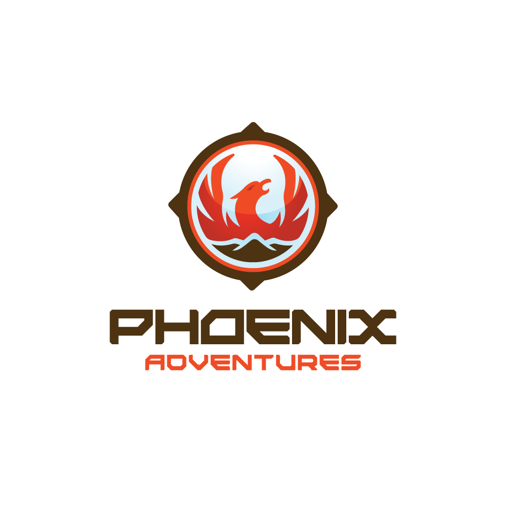 for sale�phoenix adventures compass logo design logo cowboy