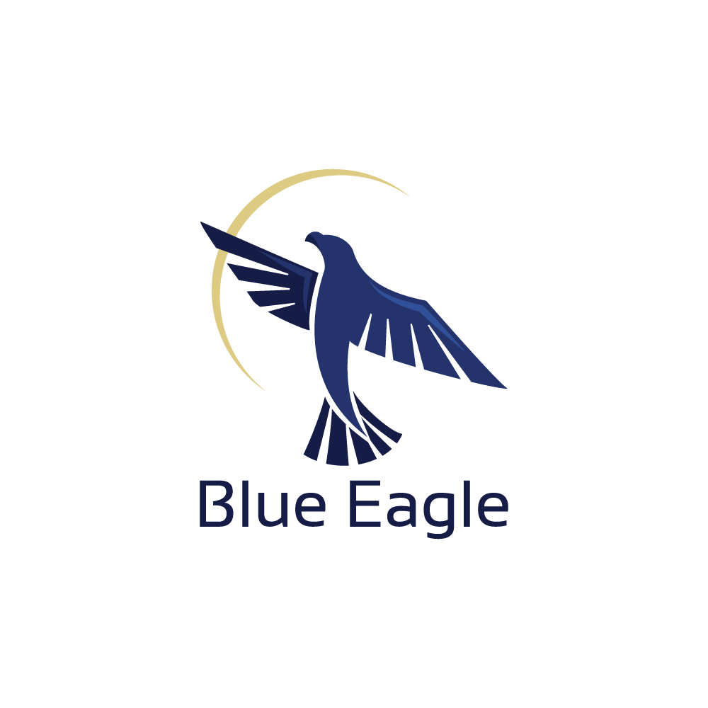 for sale blue eagle logo design logo cowboy. Black Bedroom Furniture Sets. Home Design Ideas