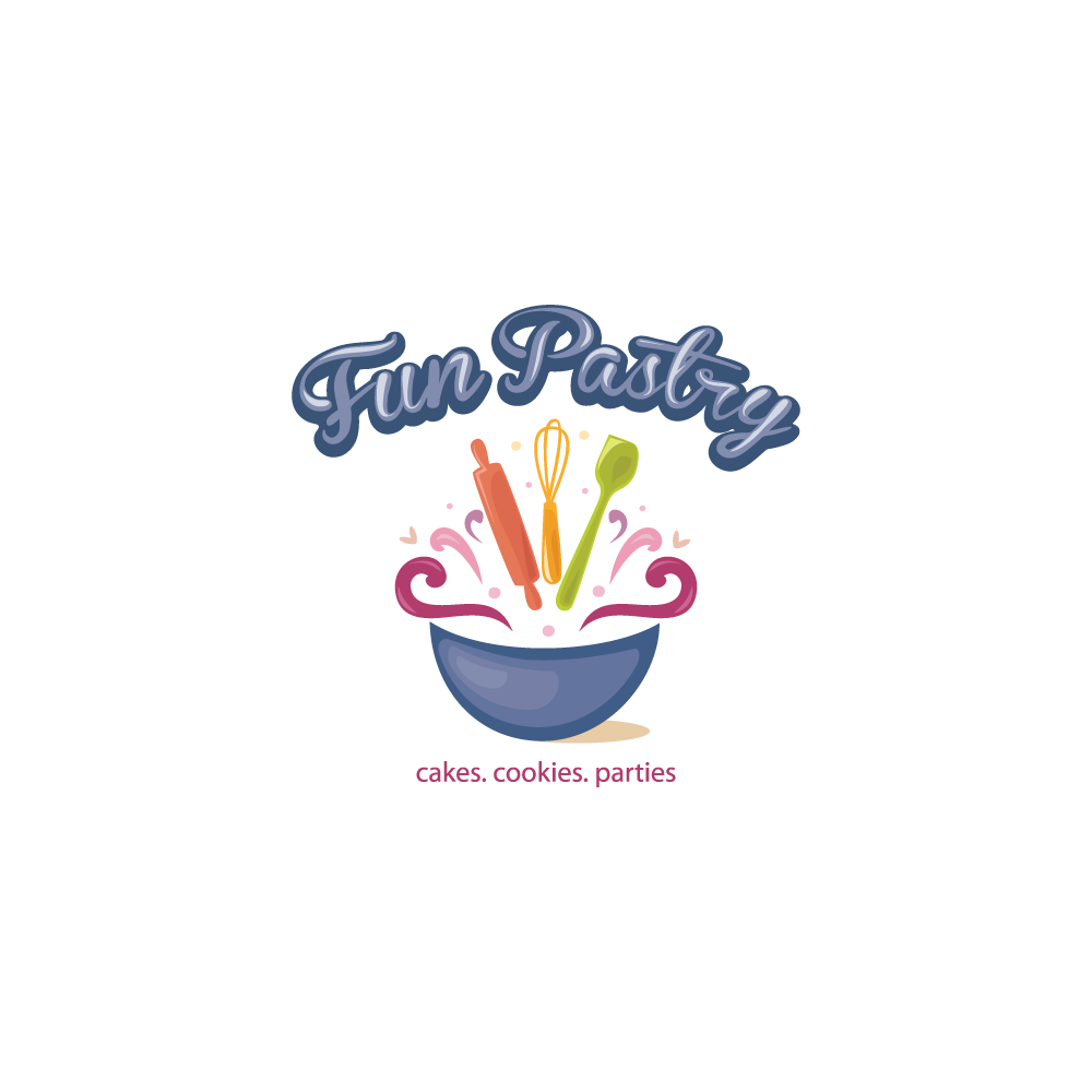 for sale  u2013 fun pastry logo design  u2013 logo cowboy