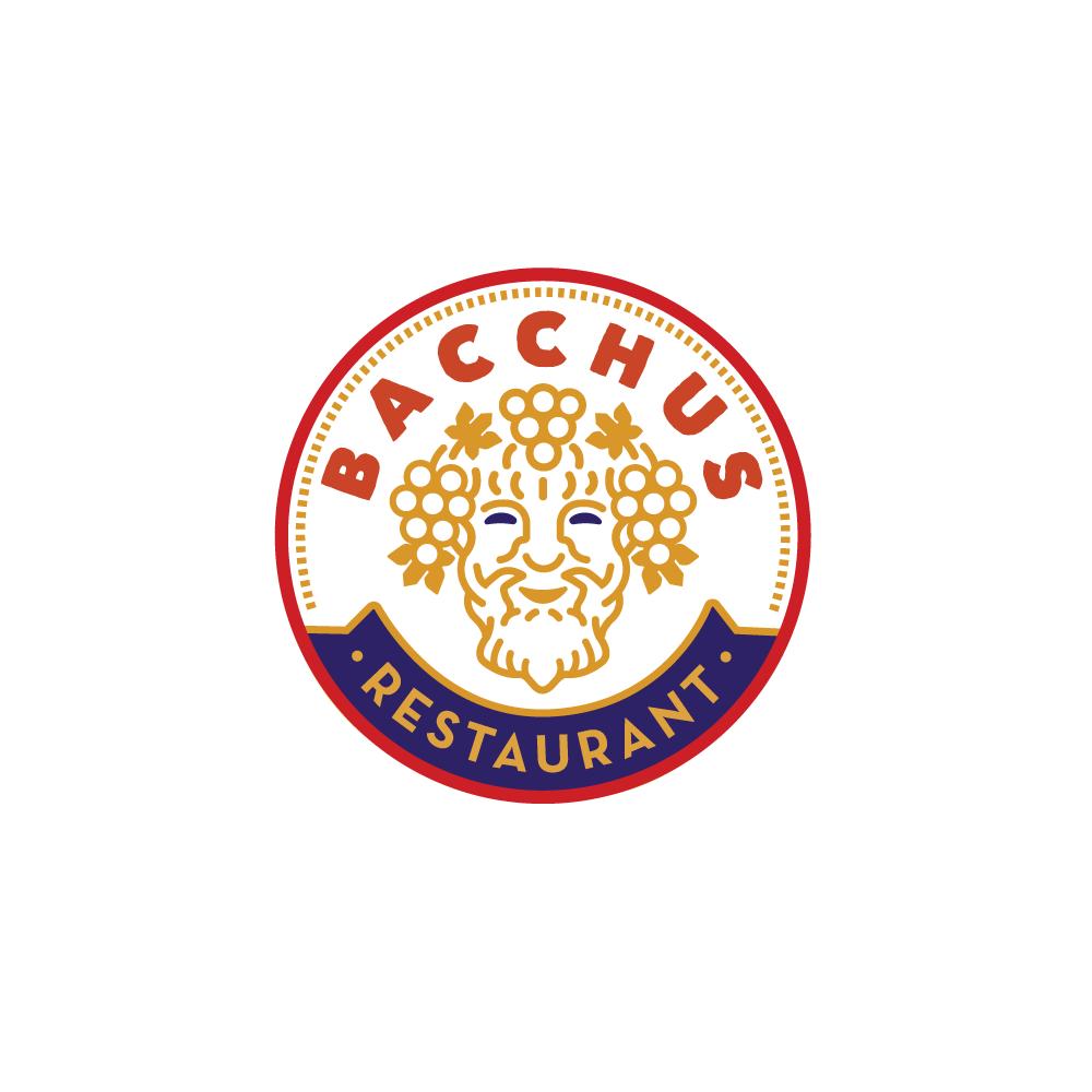 For Sale Bacchus Restaurant Wine God Logo Design Logo Cowboy