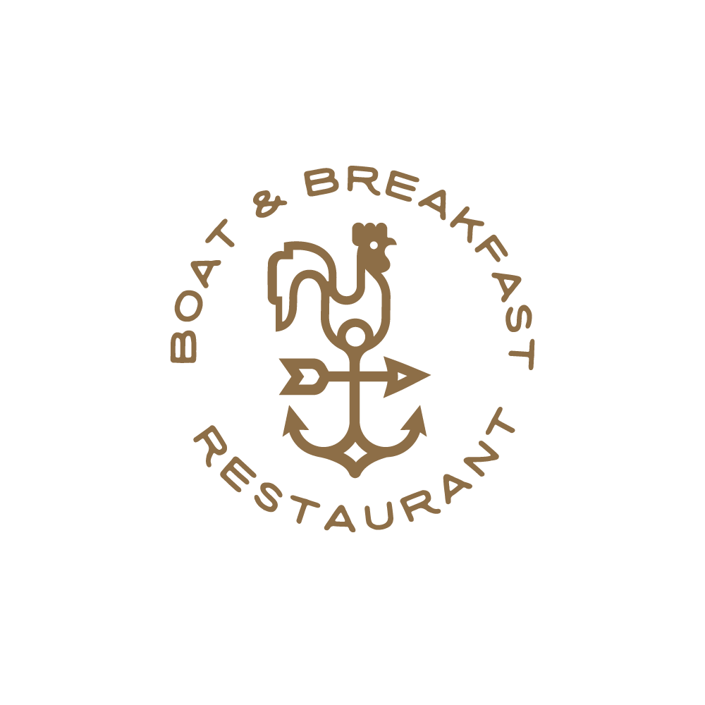 For sale boat and breakfast rooster anchor logo design logo cowboy thecheapjerseys Images