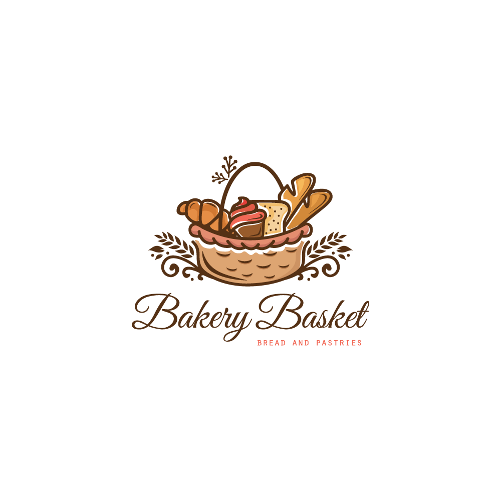 for sale  u2013 bakery basket logo design  u2013 logo cowboy