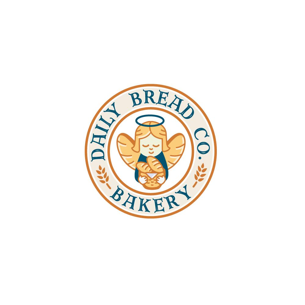 For Sale Daily Bread Co Bakery Logo Design Logo Cowboy
