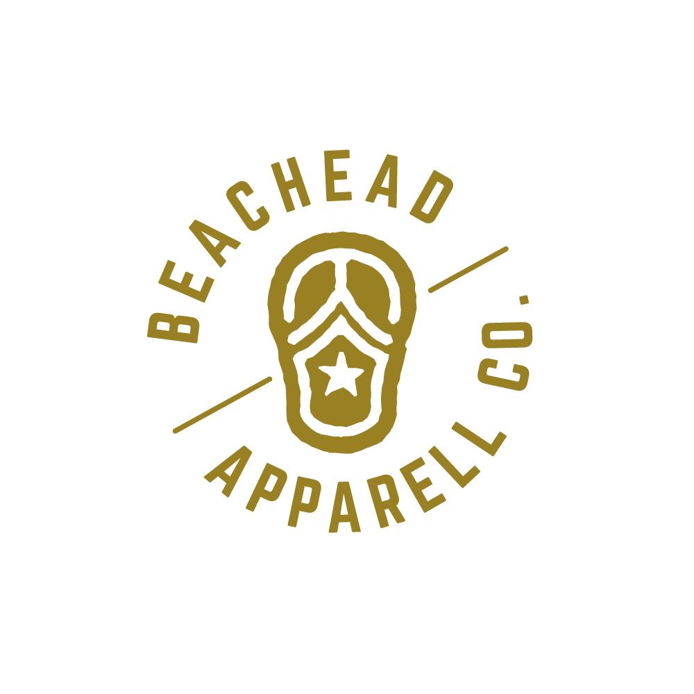 90ce2d80ed3d Logo For Sale—BeachHead Apparel Company Logo Design – Logo Cowboy