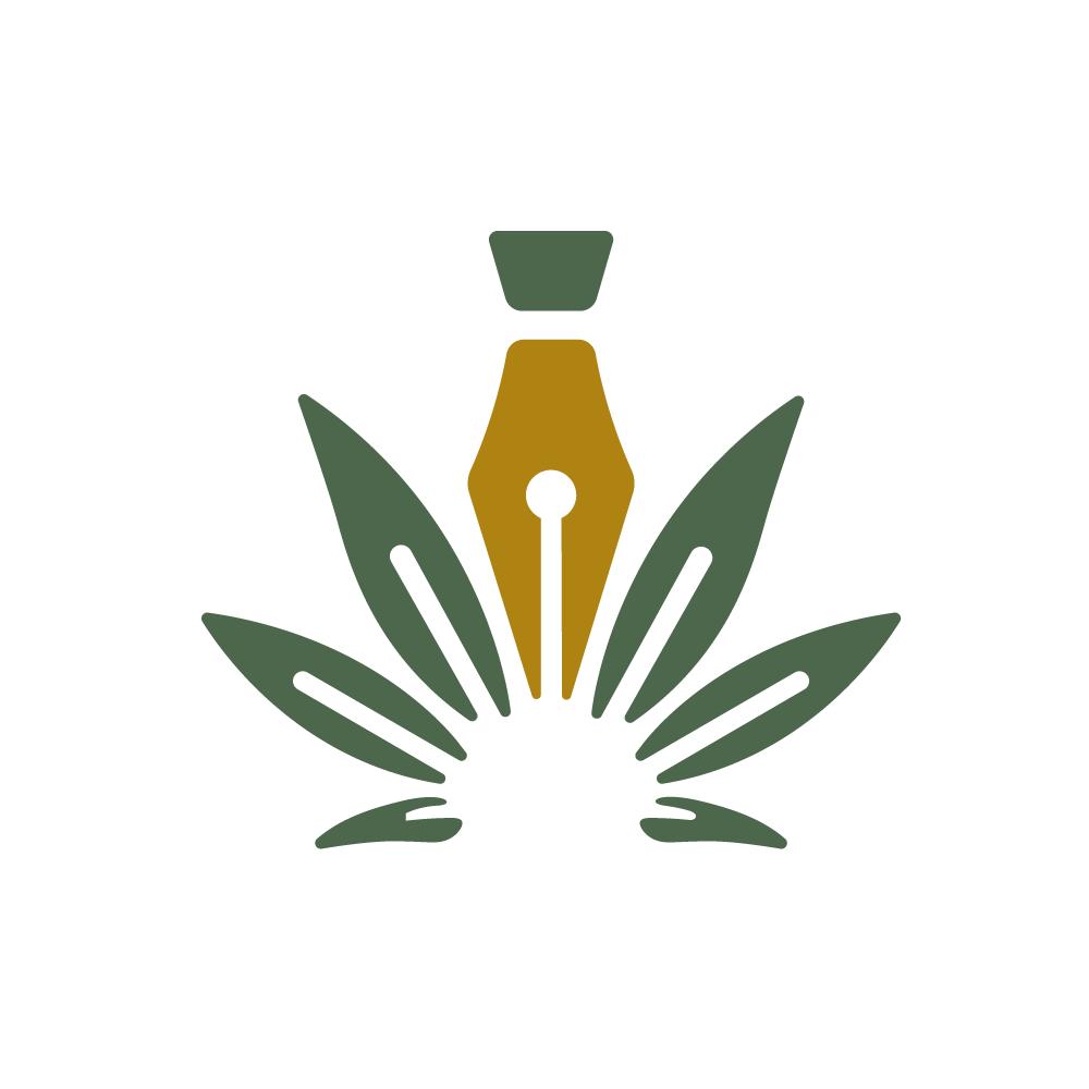 For sale cannabis writer logo design logo cowboy for Design lago