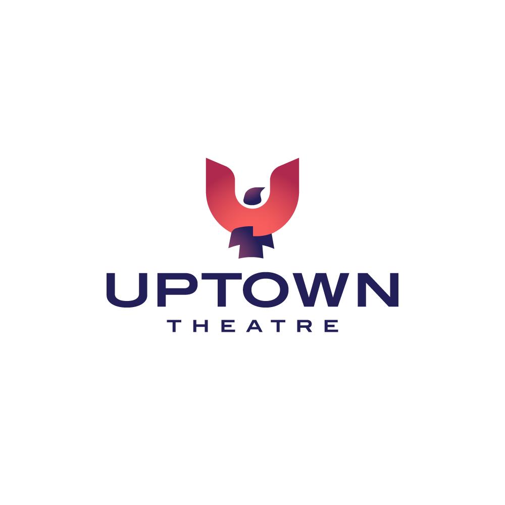 for sale uptown theatre bird logo � logo cowboy