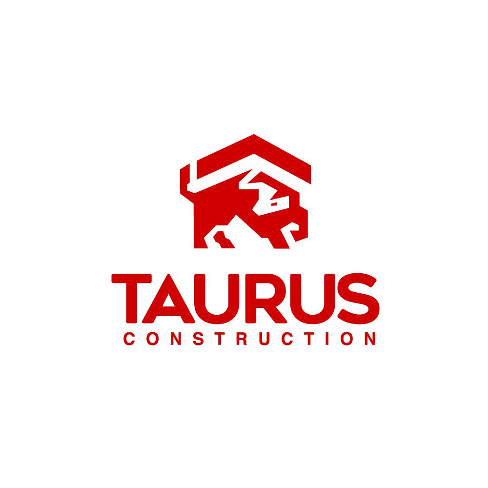 for sale  taurus construction logo design  u2013 logo cowboy