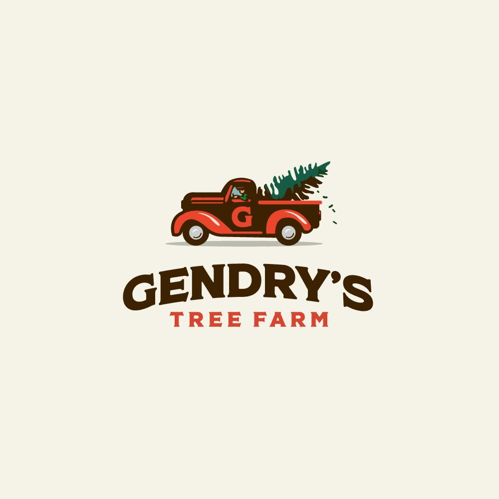 Christmas Tree Farm Logo.For Sale Gendry S Tree Farm