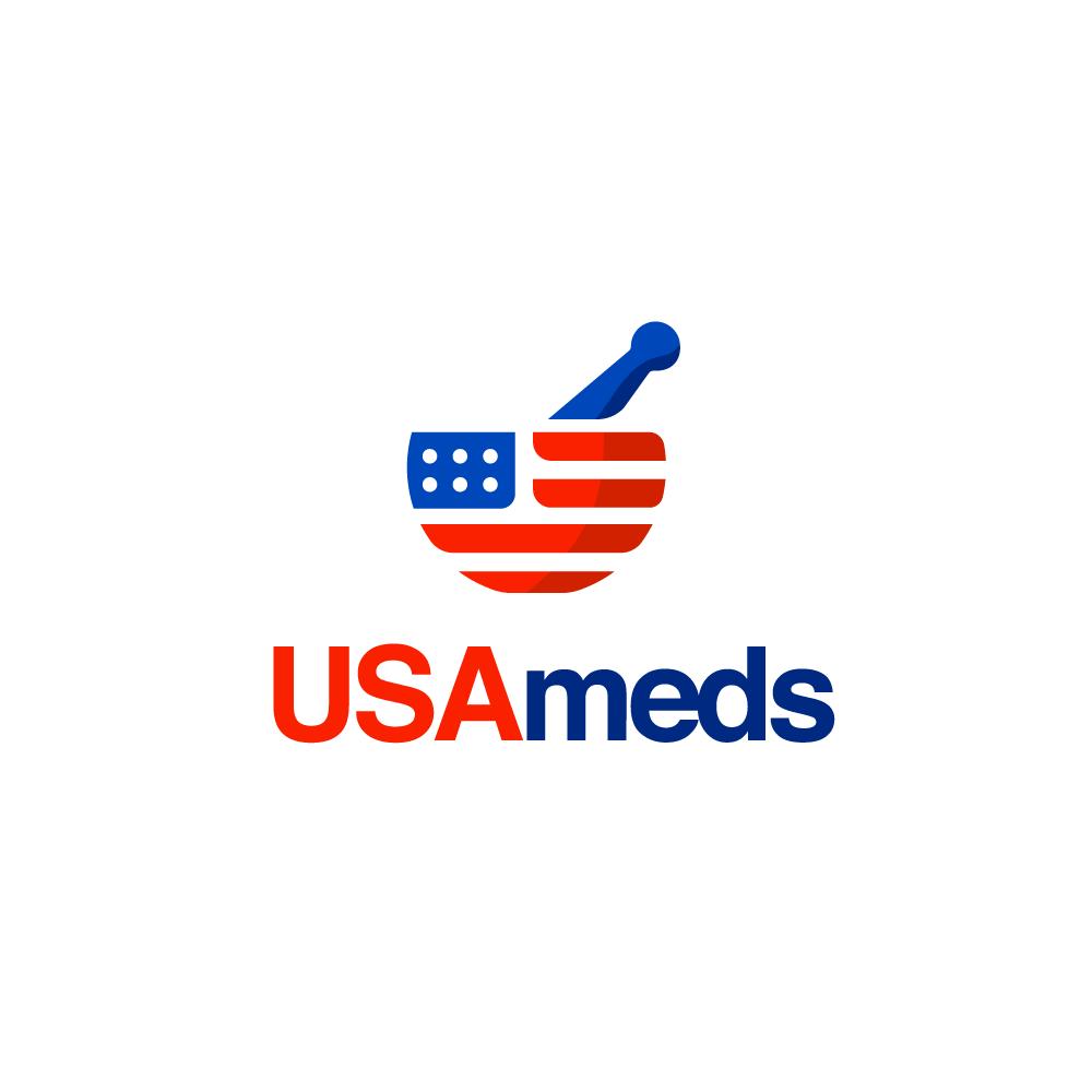 For Sale - USA meds American Flag Mortar and Pestle